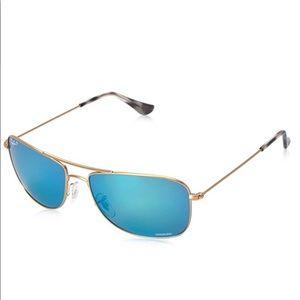 Ray Ban Men's Chromance Aviator Sunglasses-ChicEwe